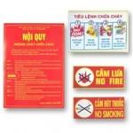 Bảng tiêu lệnh chữa cháy