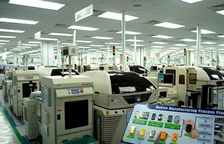 Bên trong nhà máy Samsung