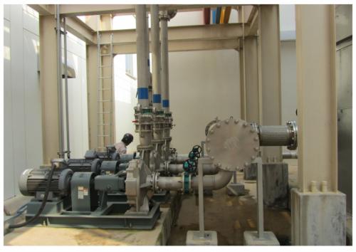 Hệ thống máy bơm nước lắp đặt cho nhà máy Samsung