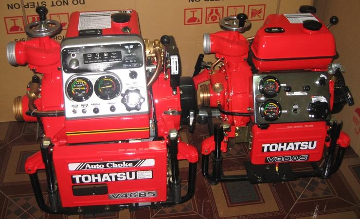 Máy bơm chữa cháy Tohatsu nhập khẩu Japan