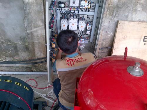 Lắp đặt hệ thống máy bơm cấp nước thumbnail