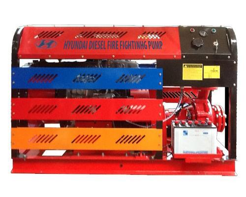 Máy bơm chữa cháy Hyundai 100HP-75KW nhập khẩu