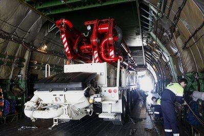 Máy bơm lớn nhất thế giới tới Nhật