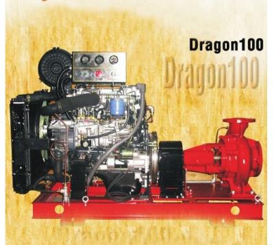 Máy bơm nước chữa cháy Huyndai cho nhà cao tầng - Dragon100