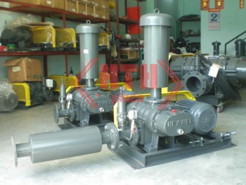 Dự án lắp đặt hệ thống máy bơm nước thải cho Công ty cơ khí lắp máy LILAMA