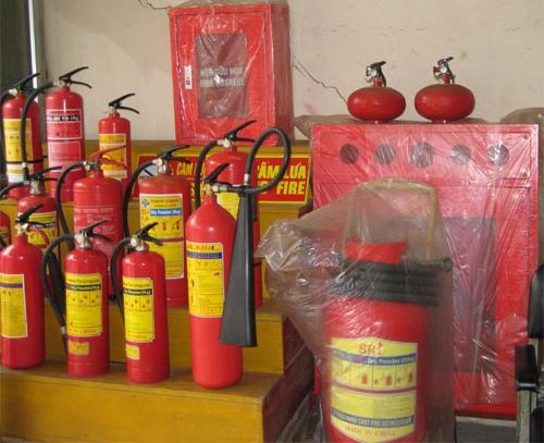 Các thiết bị PCCC chuẩn bị cung cấp cho khách hàng