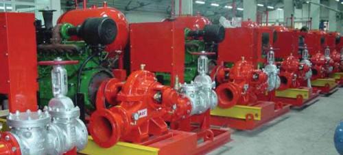 Dàn máy bơm PCCC chuẩn bị cung cấp cho khách hàng