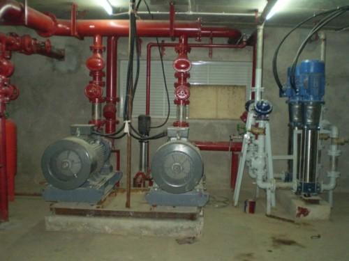 Hệ thống bơm nước dự phòng nhập khẩu Châu Âu
