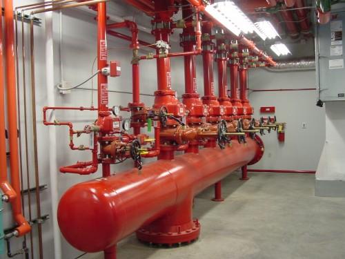 Hệ thống phòng cháy chữa cháy có thể gọi là lớn nhất Miền Bắc hiện nay