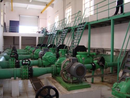 Hệ thống bơm nước thải công nghiệp