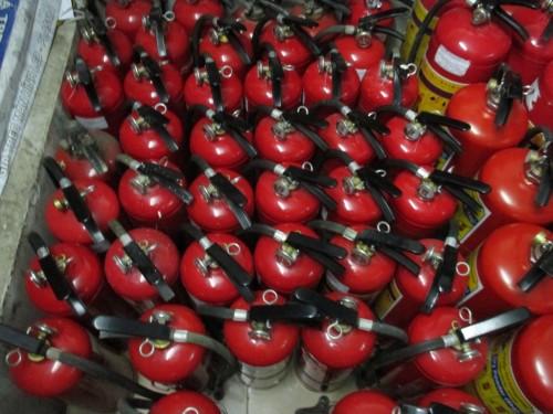 Bình chữa cháy được kiểm tra và bảo dưỡng thay thế thường xuyên