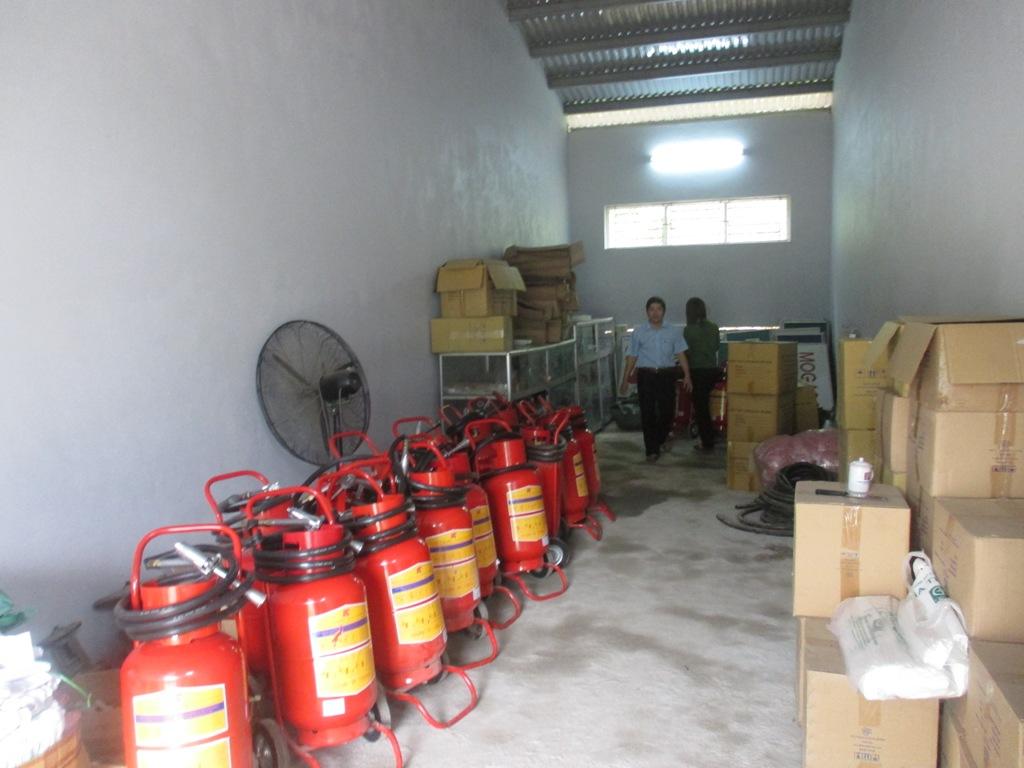 Công ty xăng dầu Hà Giang kiểm tra và nghiệm thu sản phẩm