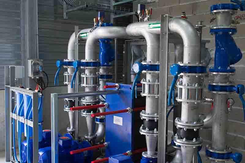 Hệ thống máy bơm nước