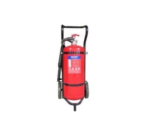 Bình chữa cháy xe đẩy bột khô ABC Multron 50kg